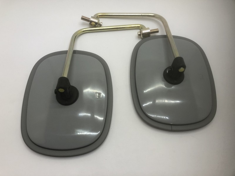 216290-3  Mirror 1 set of 2 mirrors grey, 192x124 mm + 90 support, Citroen HY