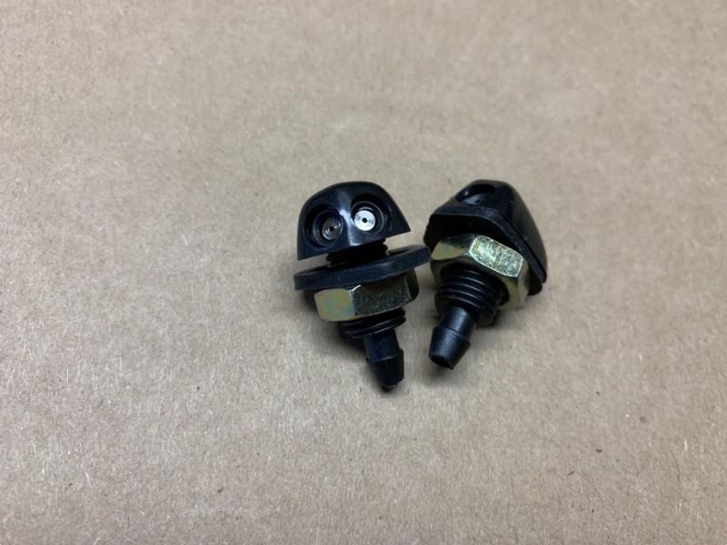 HY564-208A  Scheibenwaschdüse Kunststoff grau, 2 stuck, Citroen HY