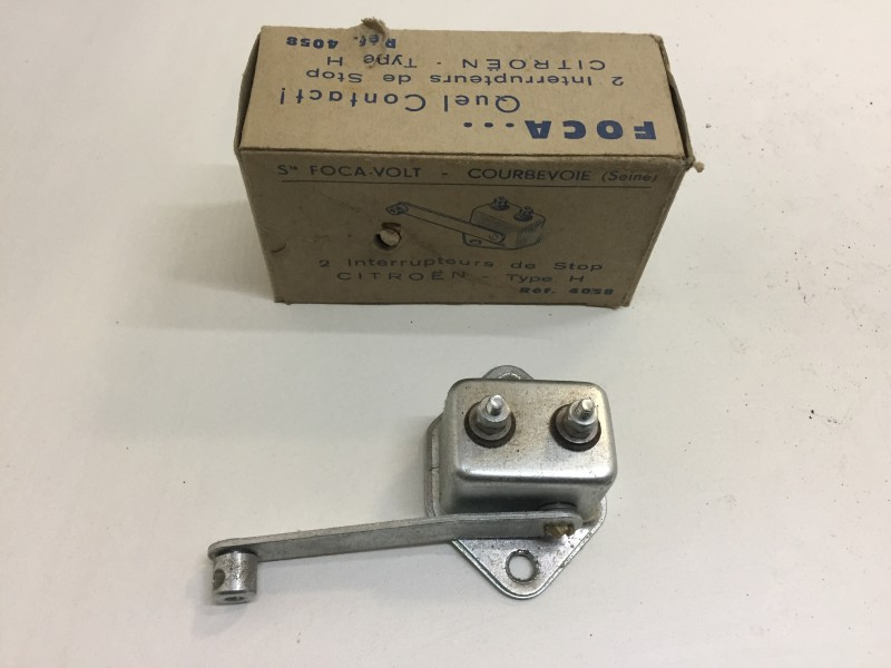 HG576-02  Stop switch, Citroen HY, ->01/1973
