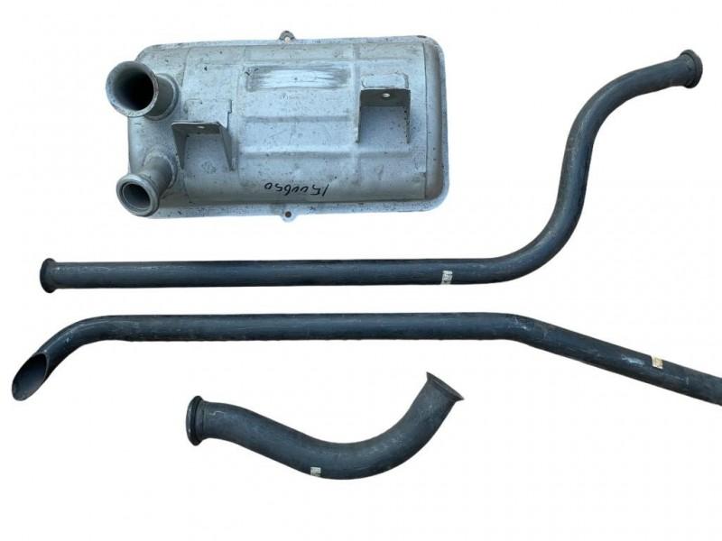 HY182-0  Exhaust set 9/1963->9/1982, Citroen HY NOS